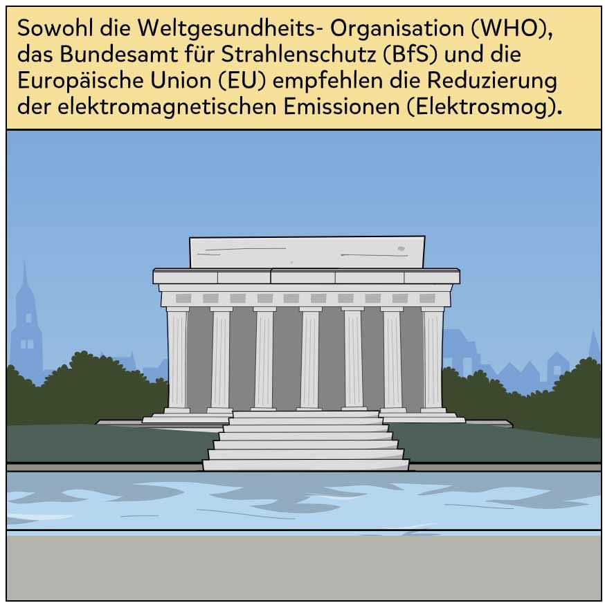 WHO, BfS, EU empfehlen Reduzierung von Elektrosmog
