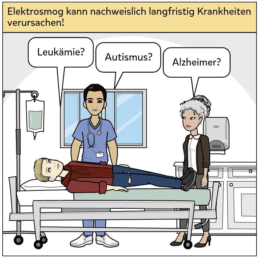 Elektrosmog kann Krankheiten verursachen